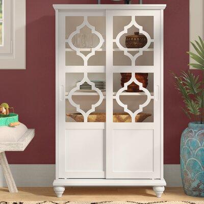 Wilhelmine Wood Curio Cabinet
