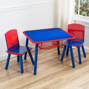 Children's Table and Chair Set with Storage by Delta Children