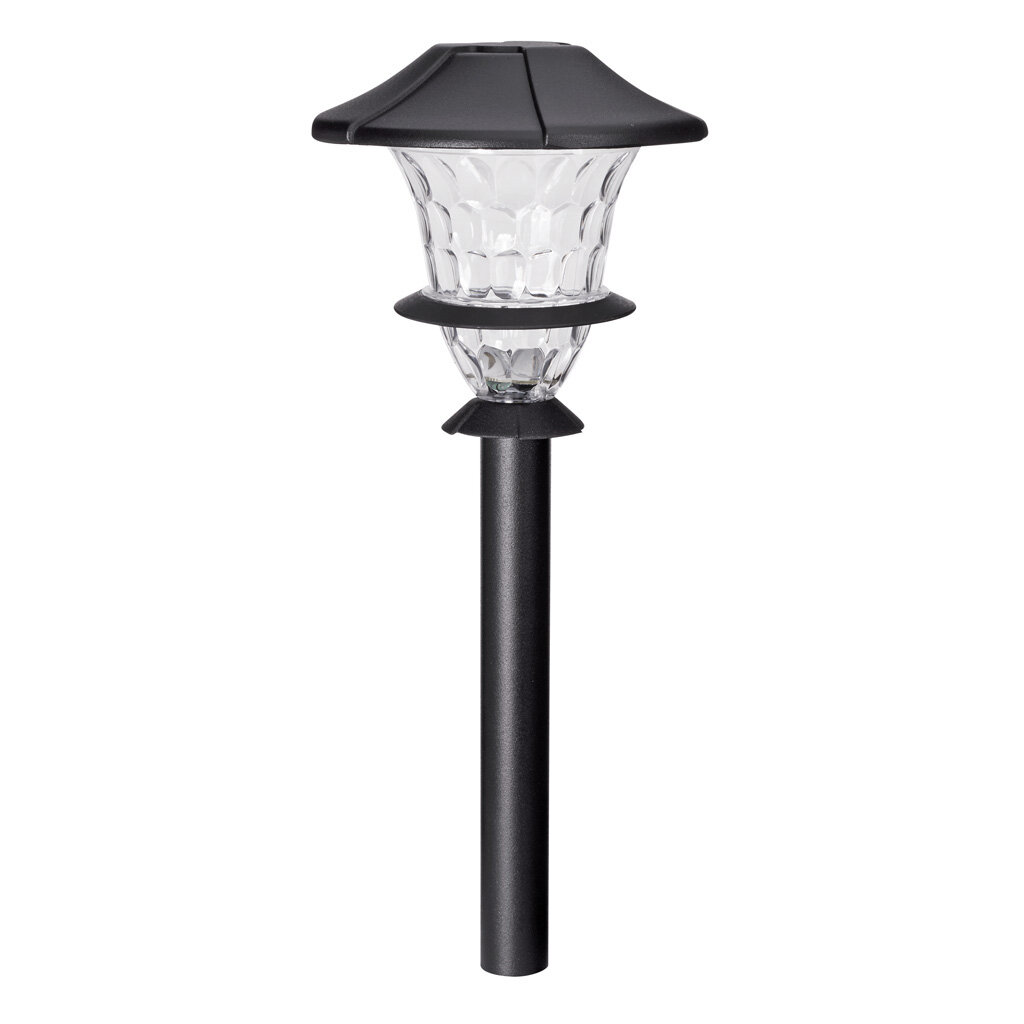 1 Pack Malibu Landscape Lighting Stake Metal Outdoor Sturdy Solid Ground Spike Die-cast Aluminum for Flood Light Pathway Light In-ground Lights
