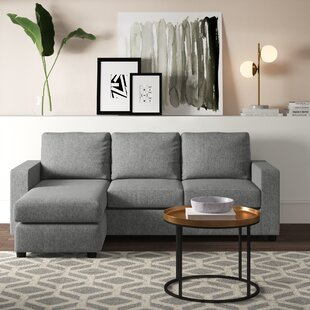 Cleland Heights Sectional with Ottoman by Mercury Row