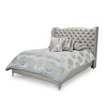 Hollywood Loft Upholstered Standard Bed by Michael Amini