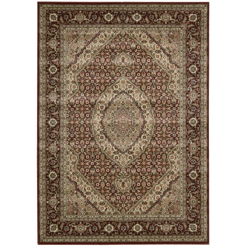 Astoria Grand Bayhills Brick Brown Area Rug Reviews Wayfair
