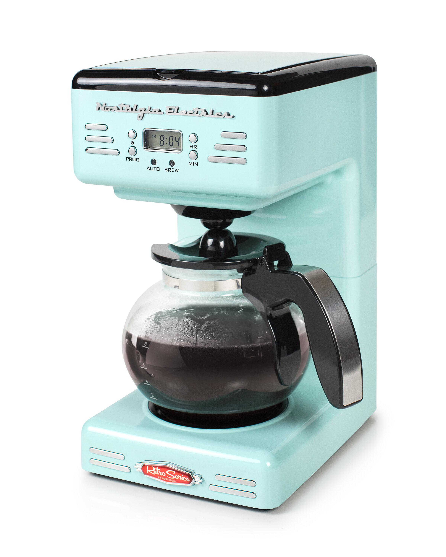 Nostalgia Electrics 12-Cup Retro Series Programmable Coffee Maker ...