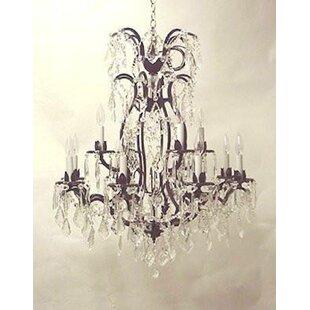 Astoria Grand Alvan 12-Light Candle Style..