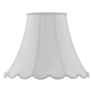 Compare & Buy Piped 16 Fabric Bell Lamp Shade By Red Barrel Studio