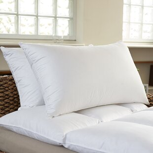 Sweet Home Collection Premium Bed Feather Pillow (Set of 2)