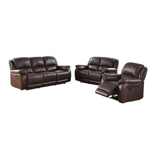 Juan Leather Reclining Loveseat