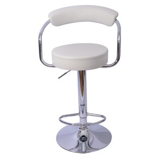 Danvers Adjustable Height Swivel Bar Stoo..
