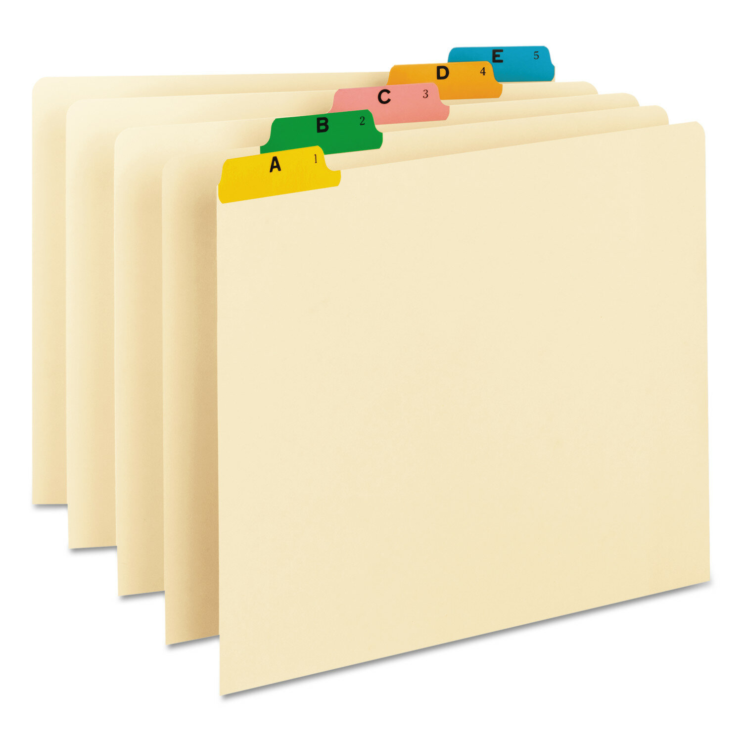 Smead Alpha Recycled Top Tab File Guides 25 Set Wayfair