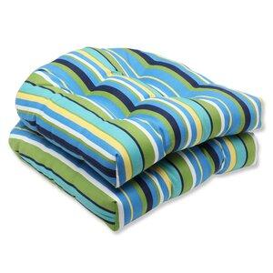 Topanga Outdoor Dining Chair Cushion (Set of 2)