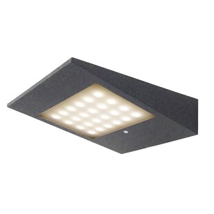 LED Solar Outdoor Armed Sconce With Motion Sensor By CMD