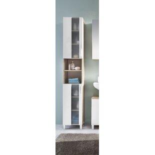 Kaweka 33cm X 191cm Free Standing Tall Bathroom Cabinet By Ebern Designs