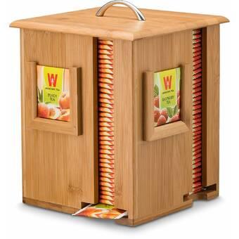 Bayou Breeze Woodard Tea Box Reviews Wayfair Ca
