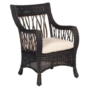Woodard Serengeti Indoor/Outdoor Dining Chair Cushion in Vallejo