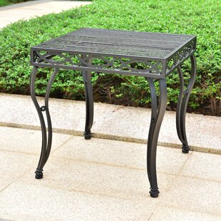 Oak Bluffs Iron Side Table
