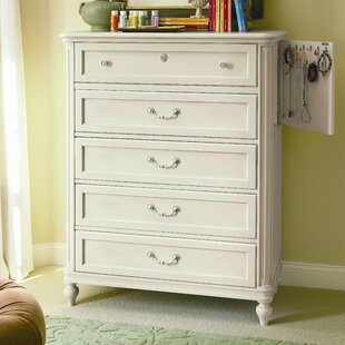 Marci 5 Drawer Chest with Mirror by Canora Grey