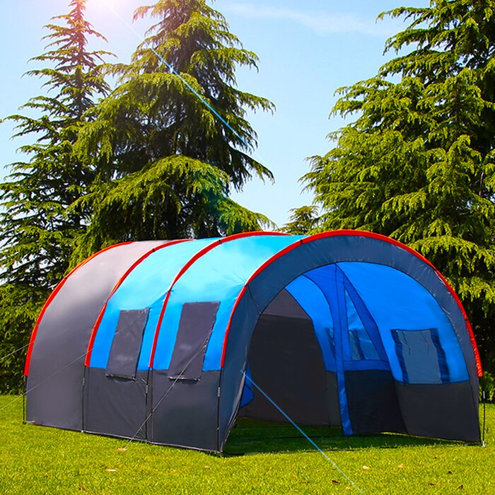 Morinome Waterproof Double Layer Oxford Cloth Outdoor 10 Person Tent