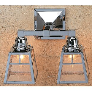 Arroyo Craftsman A-line 2-Light Vanity Light