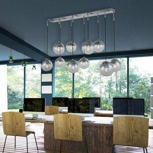 Brayden Studio Simeone 10-Light Cluster Pendant