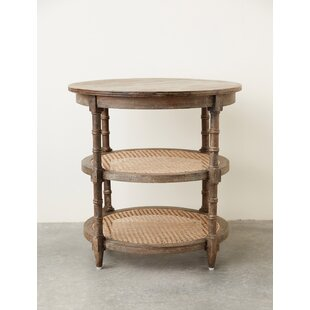 Belgrade Truck Ship Round Wood Console Table
