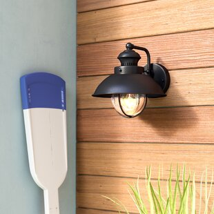 Buying Oloran 1-Light Outdoor Barn Light By Breakwater Bay