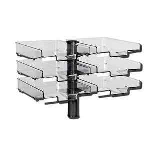 Swivel With 6 Trays By Symple Stuff