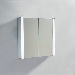 Burinskiy 70 X 70cm Surface Mounted Mirror Cabinet With LED Lightning By Belfry Bathroom