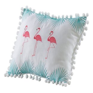 Samir Flamingo Throw Pillow