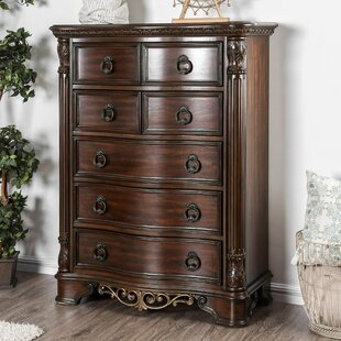 Fleur De Lis Living Caulfield 5 Drawer Chest