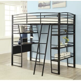 Garden Workstation Twin Loft Bed by Zoomie Kids