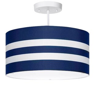Cheshunt 3-Light Semi Flush Mount by Harriet Bee