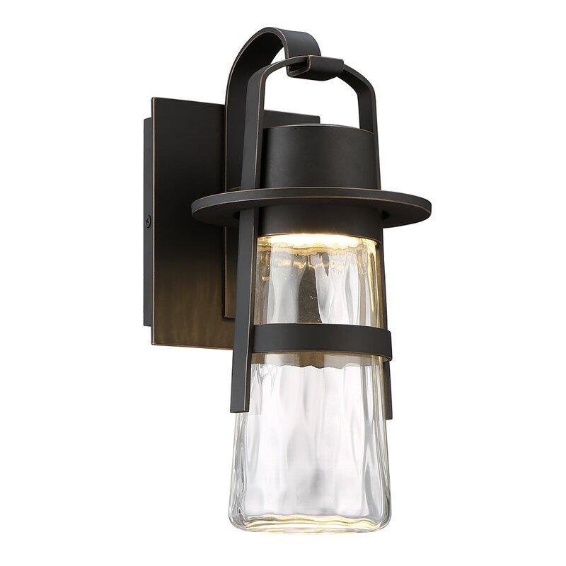 Balthus led outdoor wall lantern reviews allmodern balthus led outdoor wall lantern workwithnaturefo