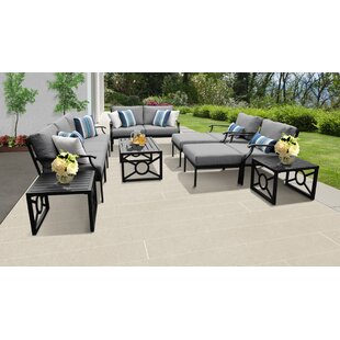Kathy Ireland Homes & Gardens Madison Ave. 12 Piece Outdoor Wicker Patio Furniture Set 12h By Kathy Ireland Home & Gardens By TK Classics
