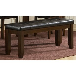 Scarlett Faux Leather Bench