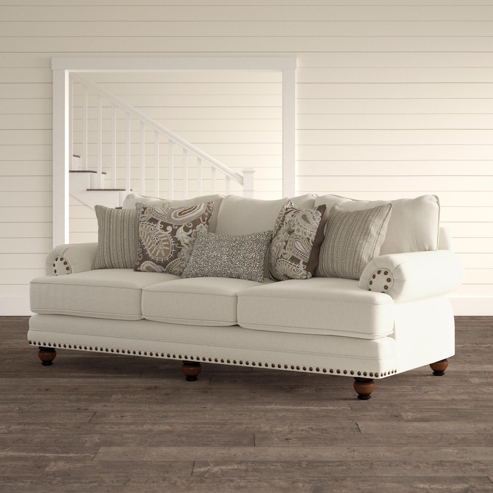 Sauer 96 Rolled Arm Sofa Reviews Birch Lane