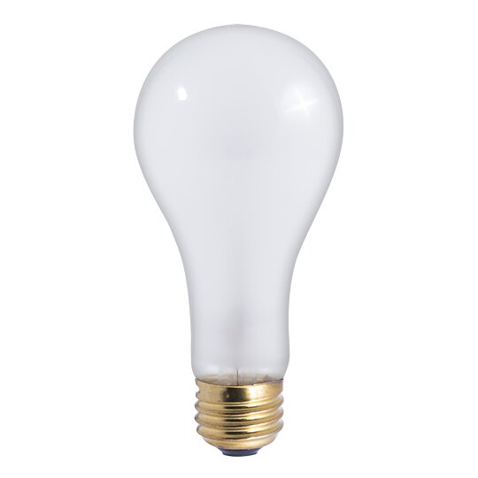 200w E26 Dimmable Incandescent Light Bulb Frosted