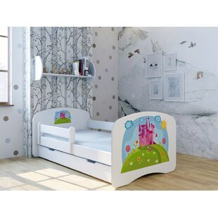 Rosamunde Castle Bed With Mattress And Drawer By Zoomie Kids