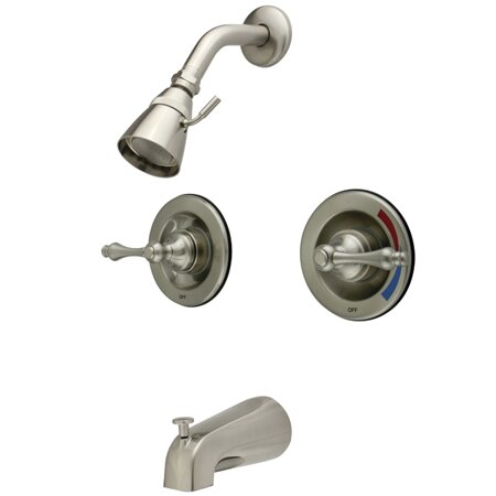 Kingston Brass Vintage Tub And Shower Faucet Wayfair