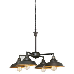 Trent Austin Design Alayna 4-Light Shaded Chandelier