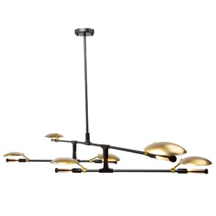 Artcraft Lighting Aventura 6-Light Sputnik Chandelier