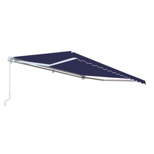 Retractable Fabric Awning by ALEKO