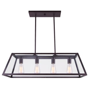 Allena 4-Light Pool Table Light Pendant by Williston Forge