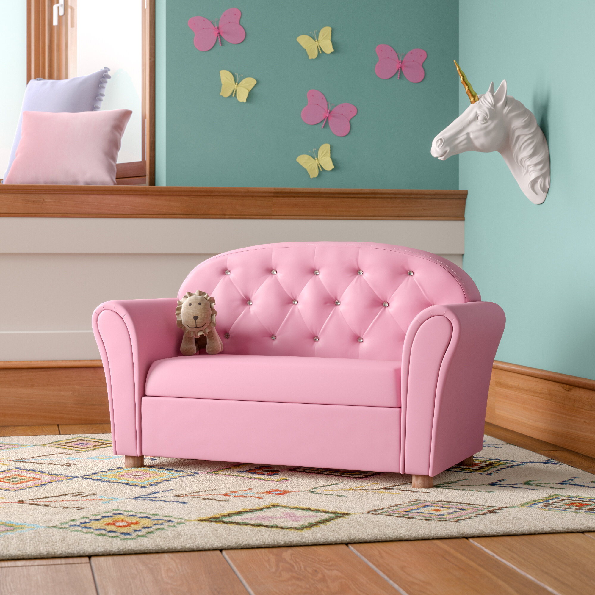 Kids Sofas & Group Seating & Couches You'll Love in 2021 | Wayfair