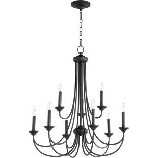 Three Posts Hewlett 9-Light Candle Style ..