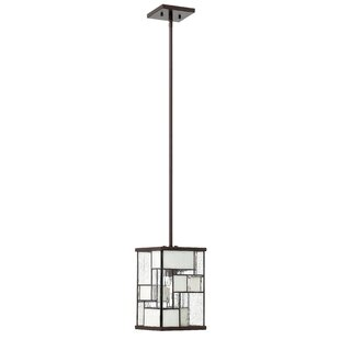 Yoshida 1-Light Square/Rectangle Pendant by Bloomsbury Market