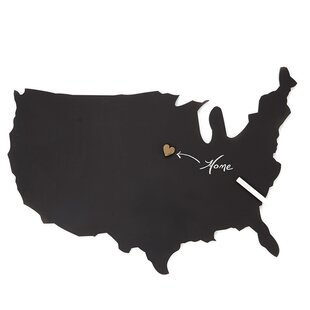 Us Map Cork Board Wayfair