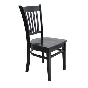Darby Home Co Lavonna Curved Back Solid Wood Dining Chair