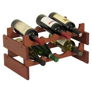 Dakota 8 Bottle Tabletop Wine Rack by Woo..