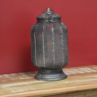 Metal Lantern by Astoria Grand