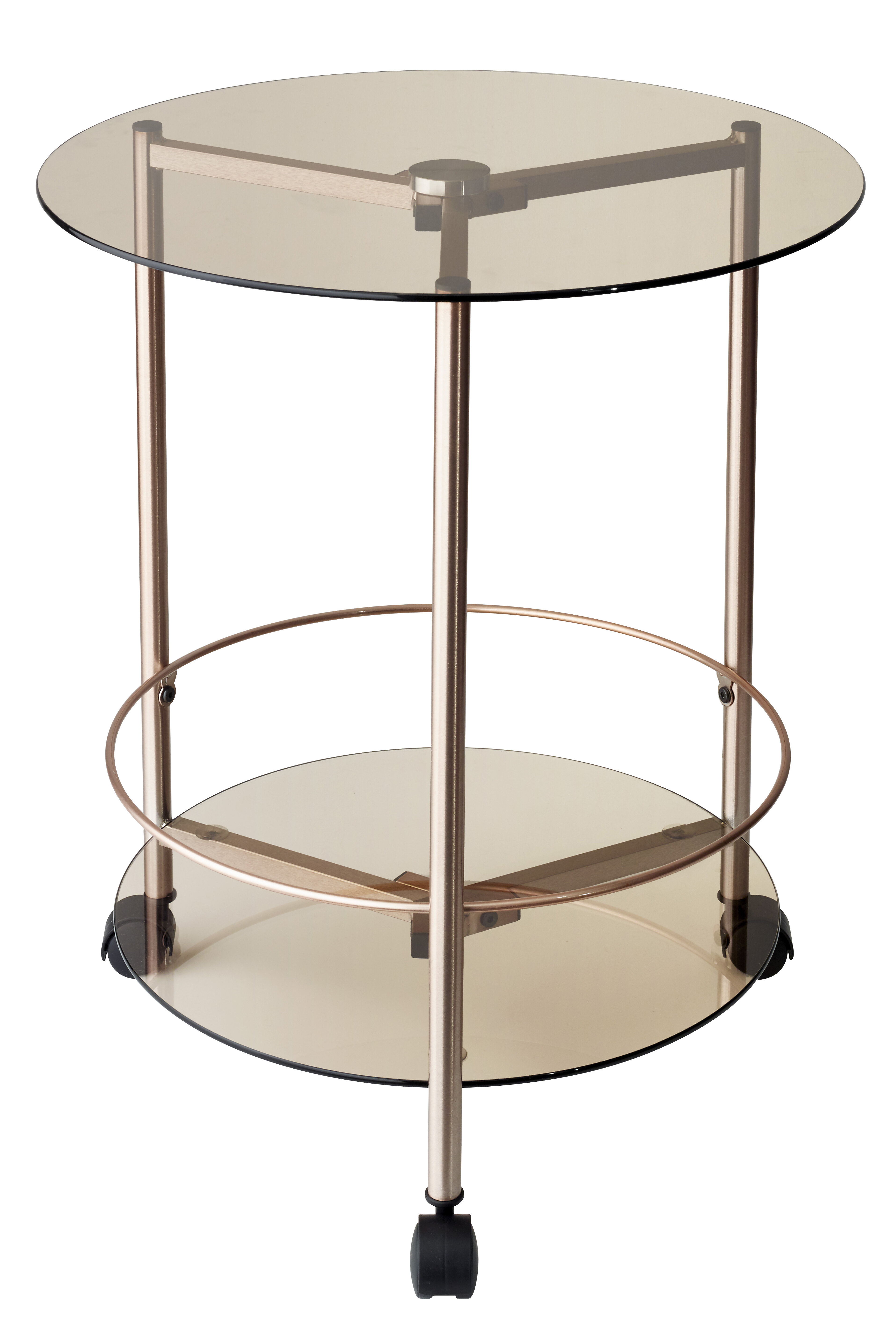 Adesso Gibson Rolling End Table & Reviews